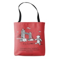 Winnie the Pooh Tote Bag – Christopher Robin – Customizable
