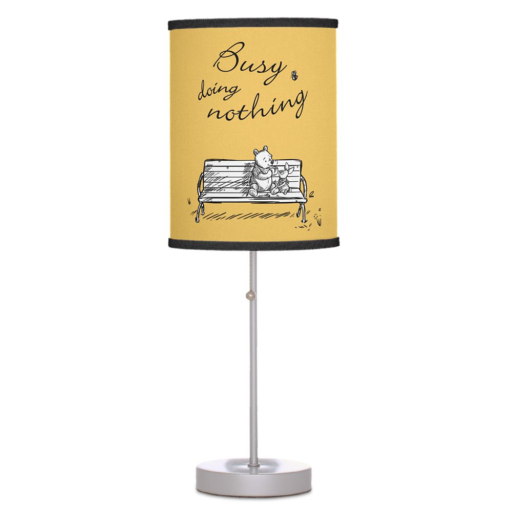 Winnie the Pooh and Piglet Desk Lamp – Christoper Robin – Customizable