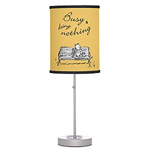 Winnie the Pooh and Piglet Desk Lamp - Christoper Robin - Customizable