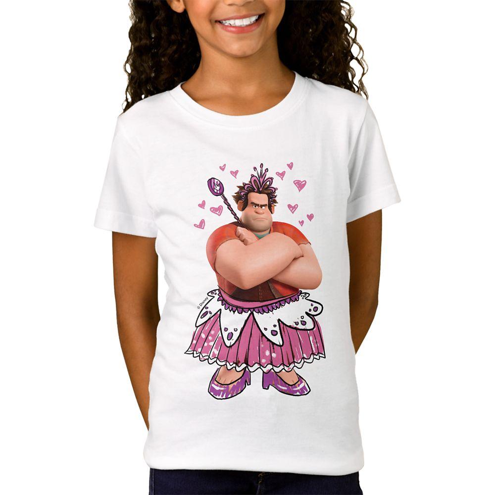 Wreck-it Ralph T-Shirt for Kids – Ralph Breaks the Internet – Customizable