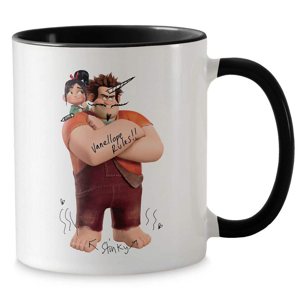 Wreck-it Ralph and Vanellope Mug – Ralph Breaks the Internet – Customizable