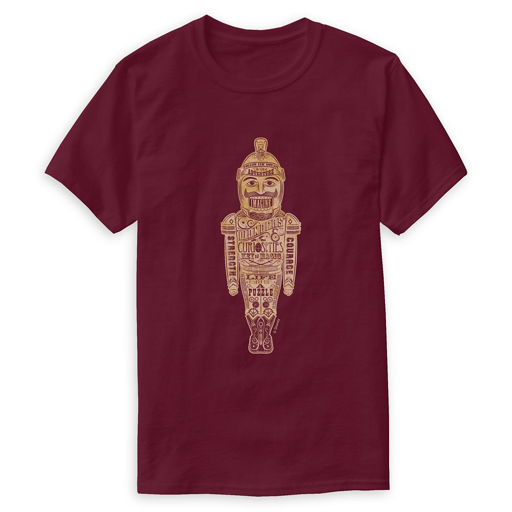 Nutcracker Soldier: Wonders & Curiosities T-Shirt for Men – The Nutcracker and the Four Realms – Customizable