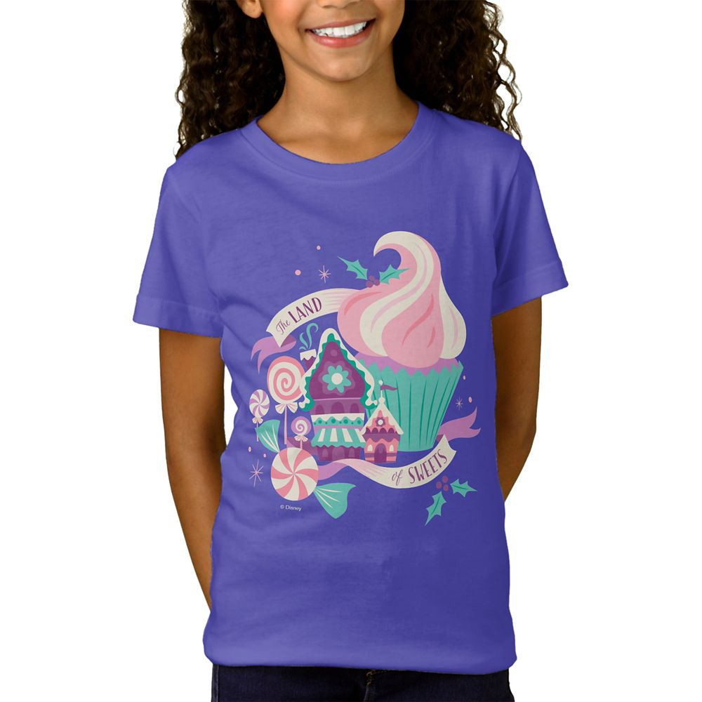 The Nutcracker and the Four Realms ''The Land of Sweets'' T-Shirt for Girls  Customizable Official shopDisney
