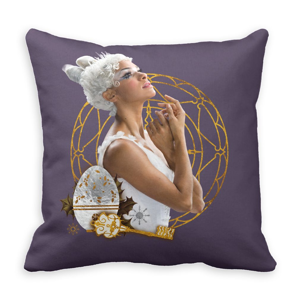 Ballerina of the Realms: A Dream in Every Step Throw Pillow – The Nutcracker and the Four Realms – Customizable