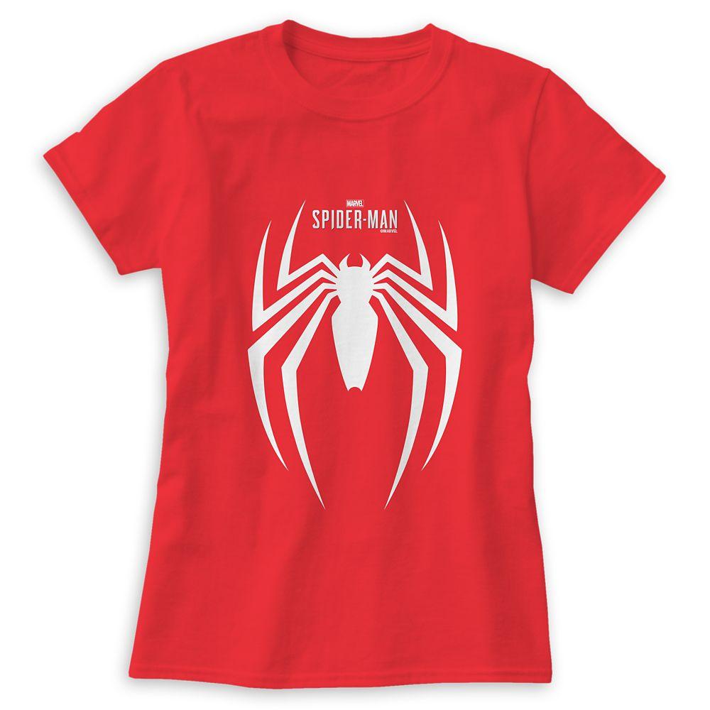 Spider-Man Logo T-Shirt for Men  Customizable Official shopDisney