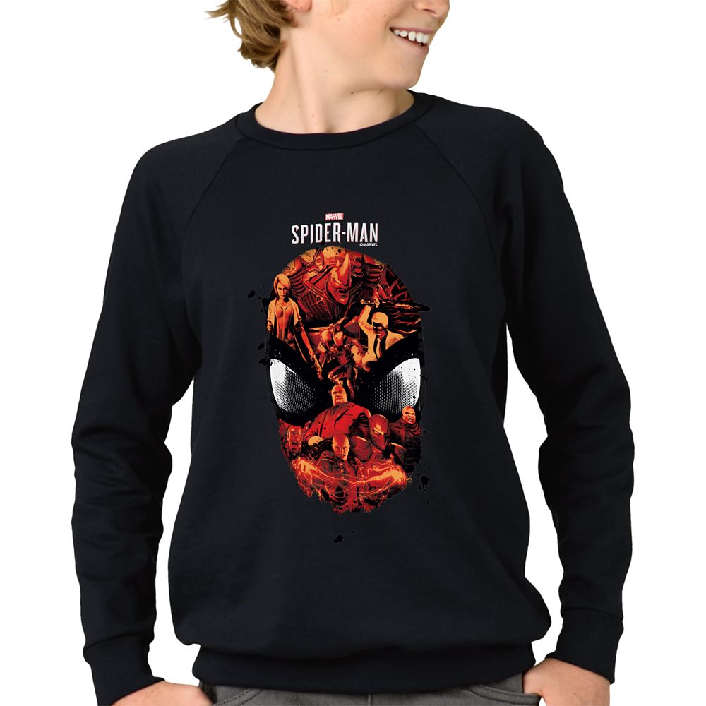 Spider-Man Villains Long Sleeve T-Shirt for Kids  Customizable Official shopDisney