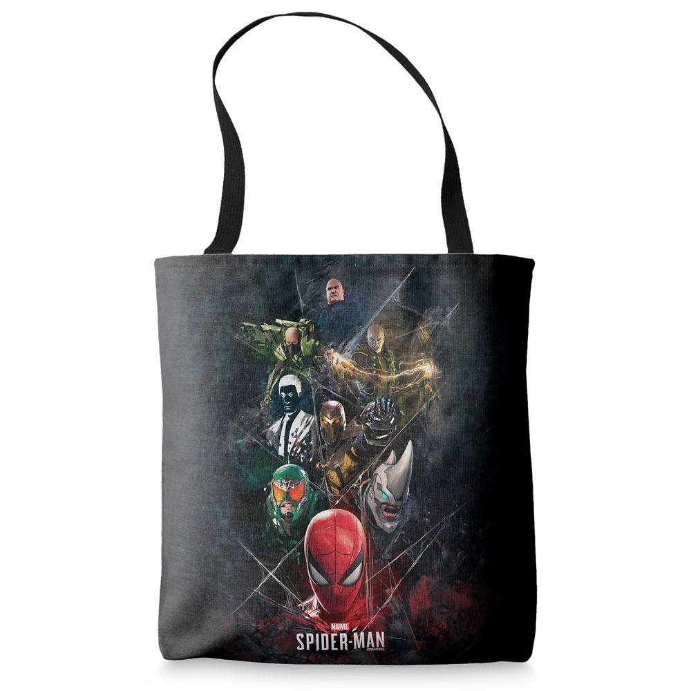 Spider-Man with Villains Tote Bag – Customizable