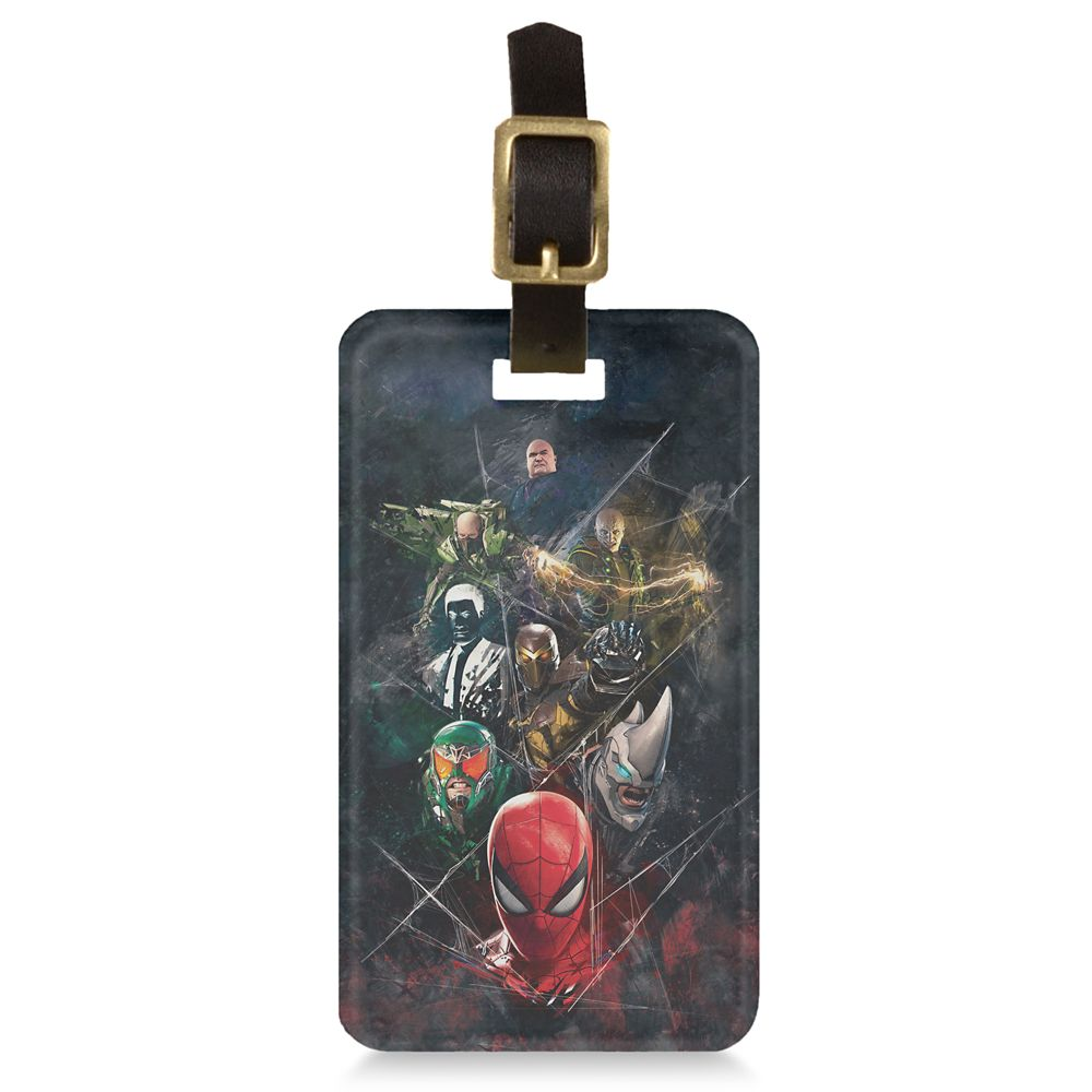 Spider-Man with Villains Luggage Tag  Customizable Official shopDisney