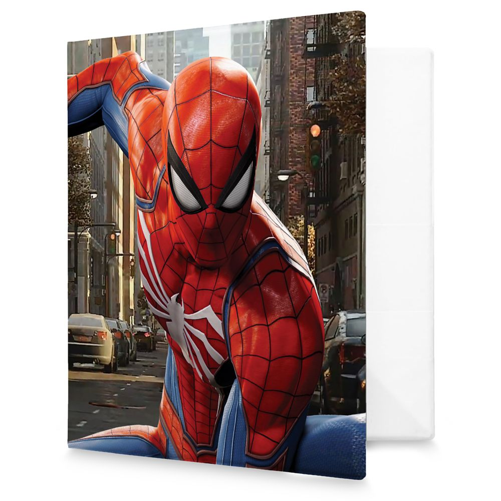 Spider-Man Three Point Landing 3 Ring Binder  Customizable Official shopDisney