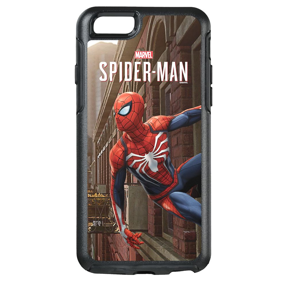 Spider-Man ''Hanging On Wall Pose'' Symmetry Phone Case by OtterBox  Customizable Official shopDisney