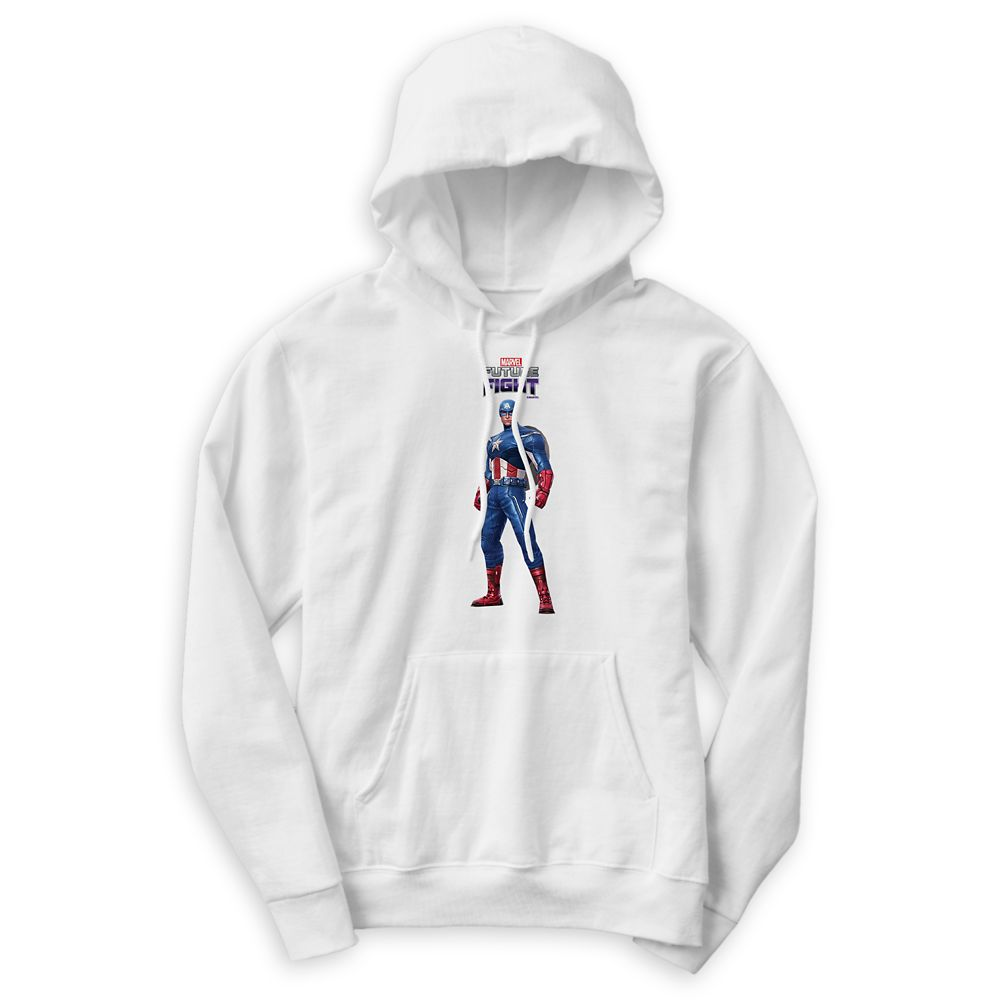 Captain America Pullover Hoodie for Men – Marvel Future Fight – Customizable