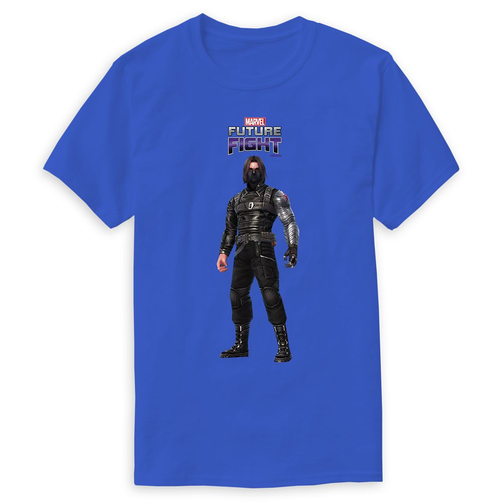 Winter Soldier T-Shirt for Men  Marvel Future Fight  Customizable Official shopDisney