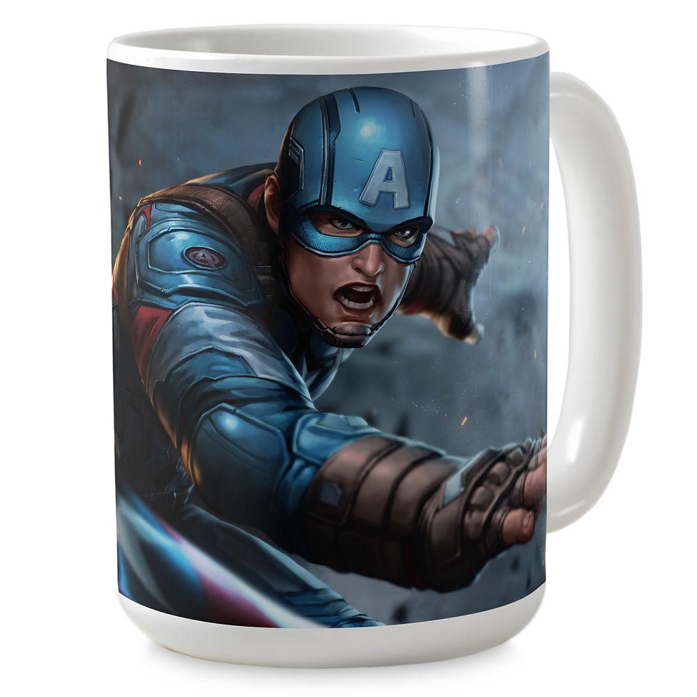 Captain America Shield Coffee Mug – Marvel Future Fight – Customizable