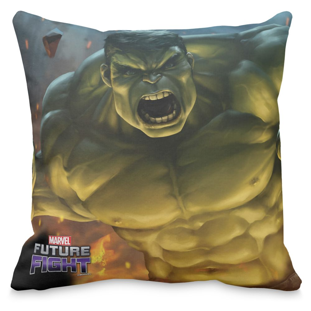 Hulk Roar Throw Pillow – Marvel Future Fight – Customizable