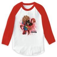 Ms. Marvel Flying Punch T-Shirt for Girls – Marvel Rising – Customizable