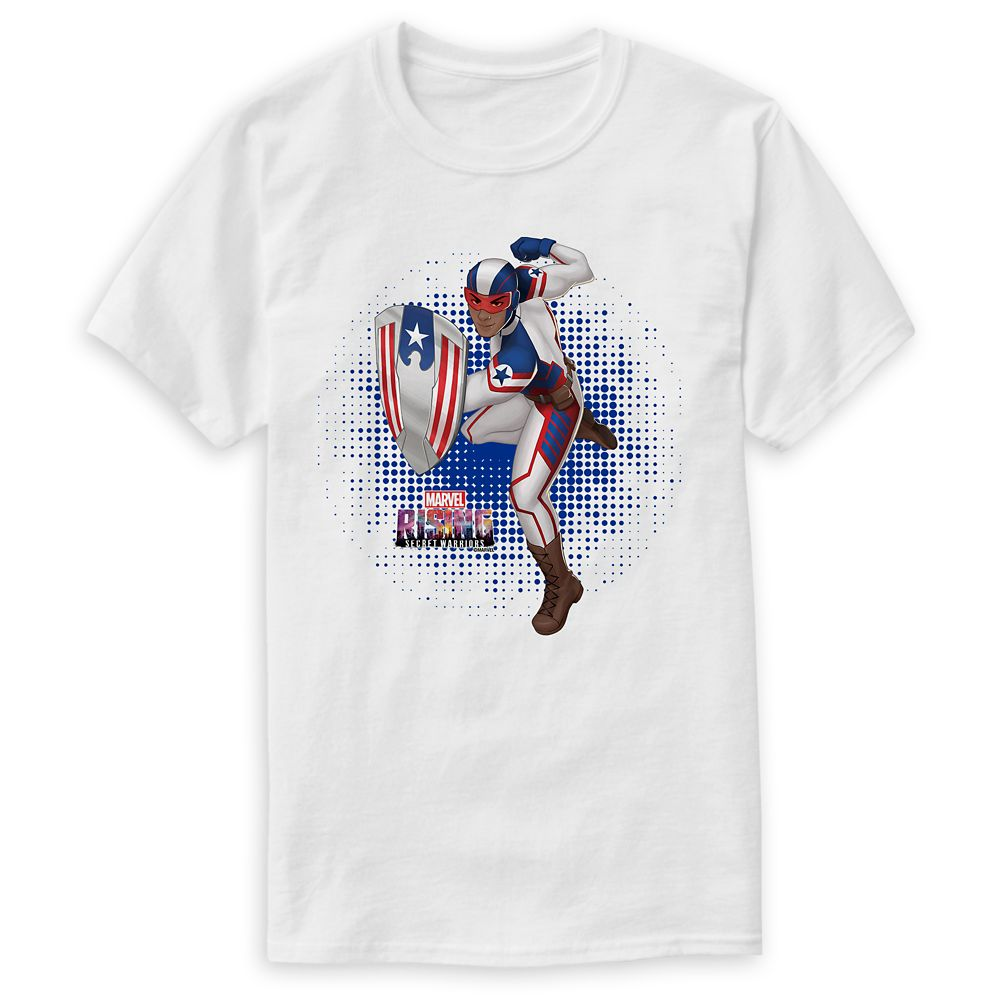 Patriot T-Shirt for Men – Marvel Rising – Customizable