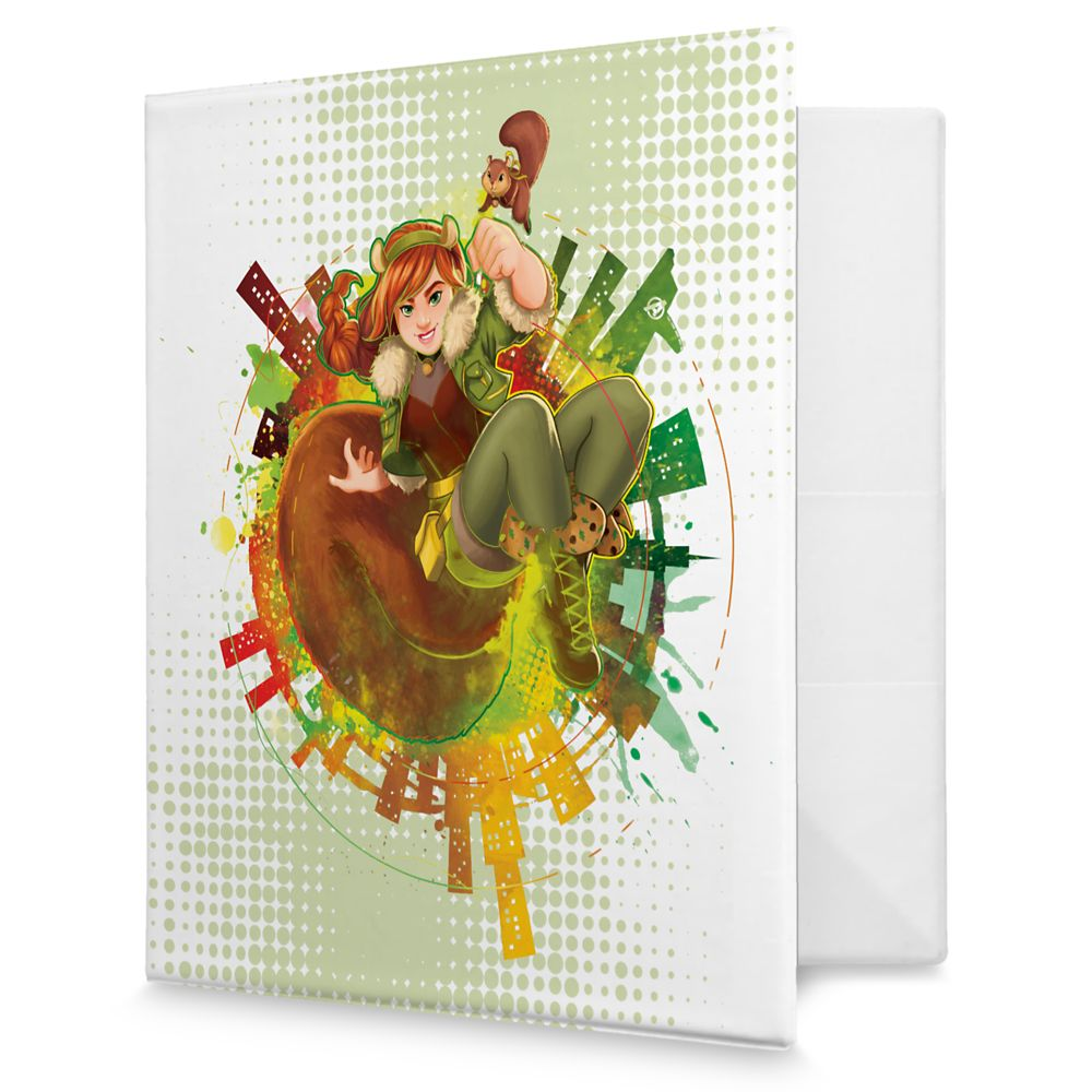 Squirrel Girl 3-Ring Binder  Marvel Rising  Customizable Official shopDisney