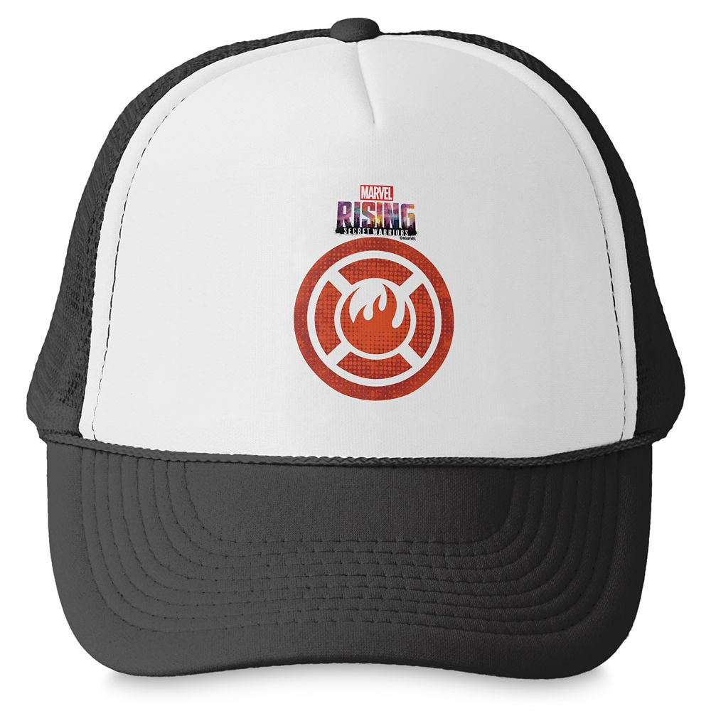 Inferno Logo Trucker Hat – Marvel Rising – Customizable