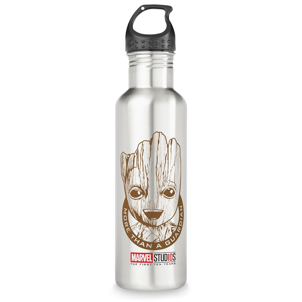 Groot ''More than a Guardian'' Stainless Steel Water Bottle – Customizable