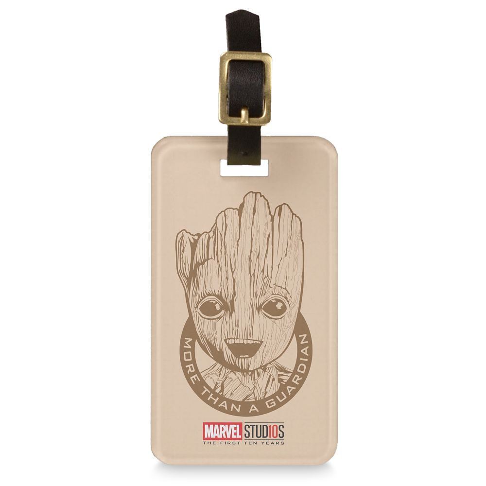 Groot ''More than a Guardian'' Luggage Tag  Customizable Official shopDisney
