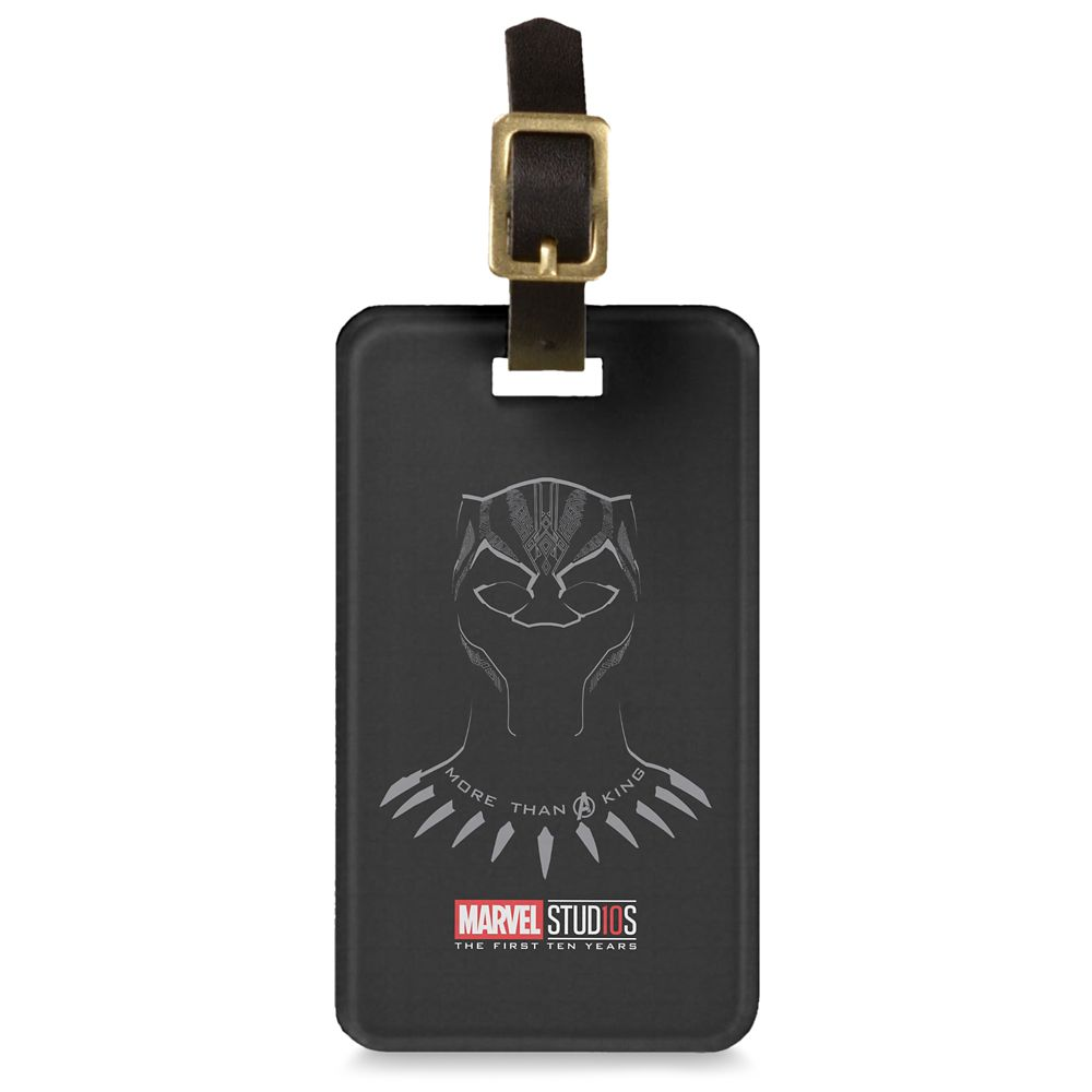 Black Panther ''More than a King'' Luggage Tag  Customizable Official shopDisney