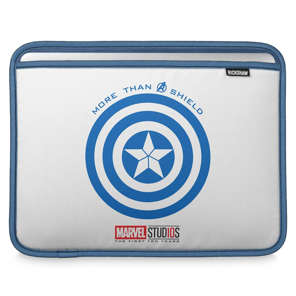 Captain America ''More than a Shield'' MacBook Air Sleeve – Customizable