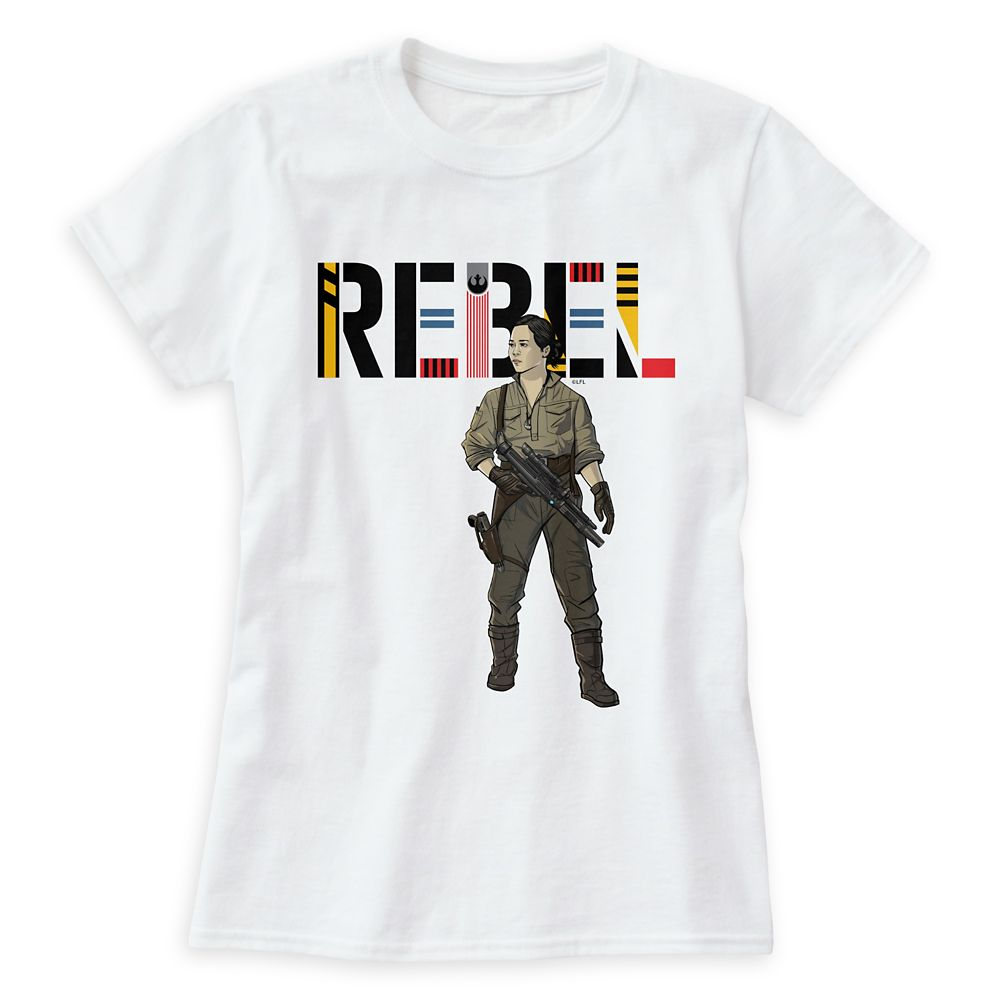 Rebel Rose T-Shirt for Women – Star Wars – Customizable