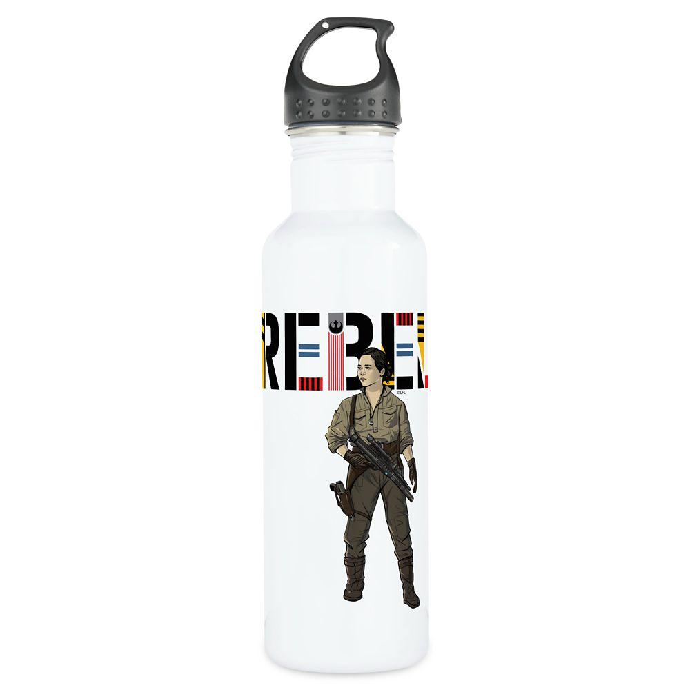 Rebel Rose Water Bottle – Star Wars – Customizable