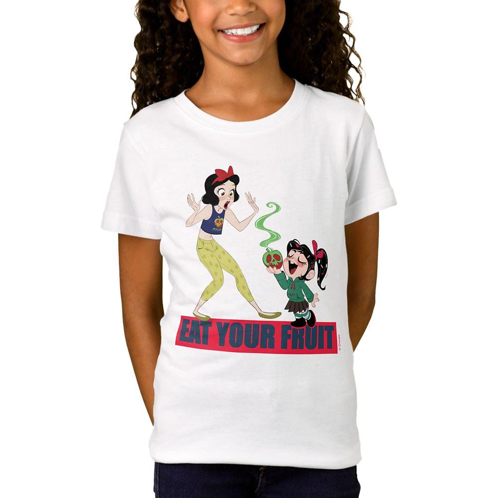 Ralph Breaks the Internet ''Eat your Fruit'' T-Shirt for Girls  Customizable Official shopDisney