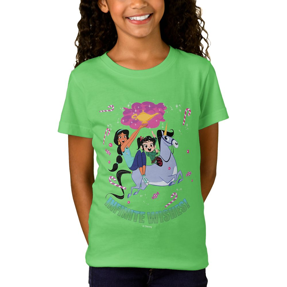 Ralph Breaks the Internet ''Infinite Wishes'' T-Shirt for Girls  Customizable Official shopDisney