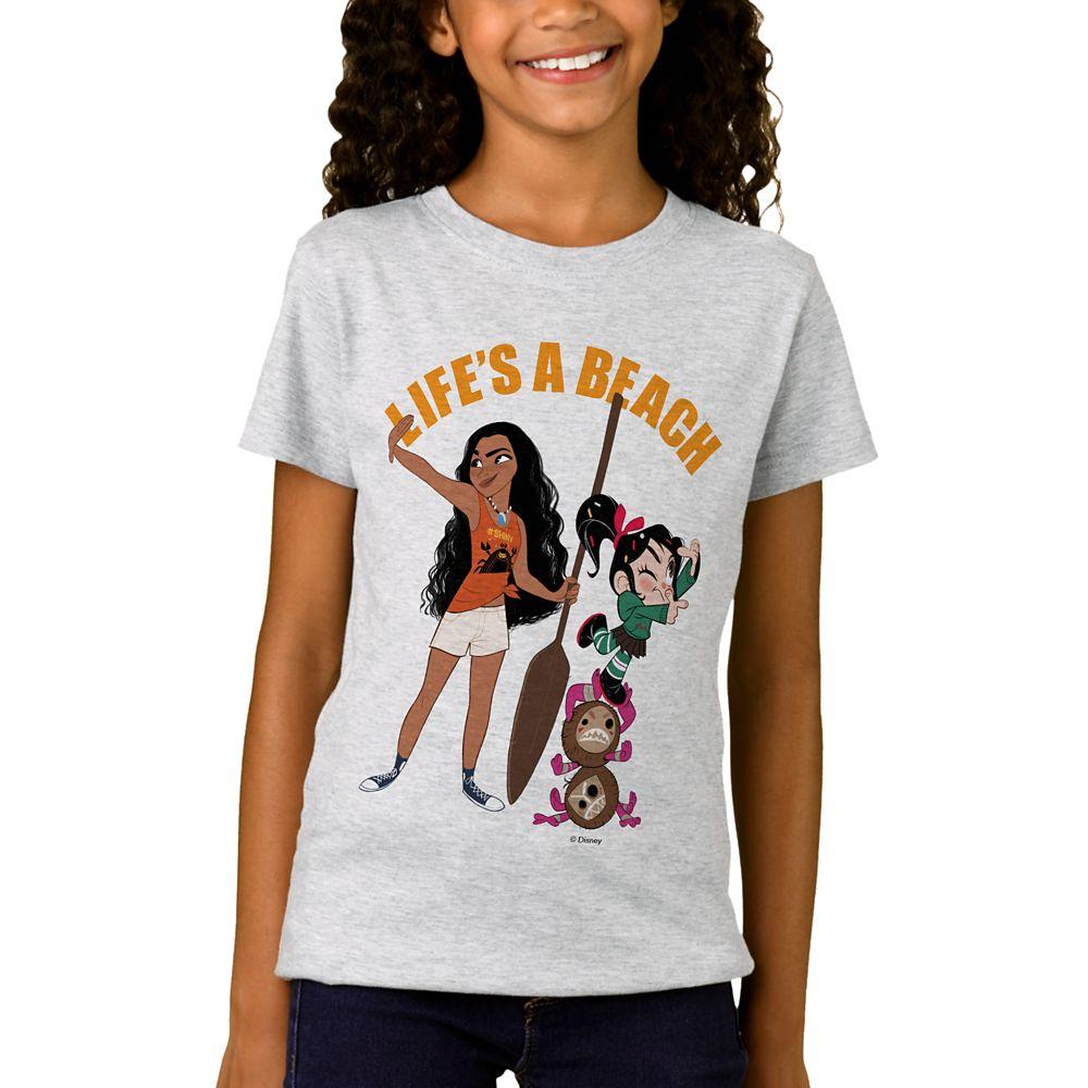 Ralph Breaks the Internet ''Life's a Beach'' T-Shirt for Girls  Customizable Official shopDisney