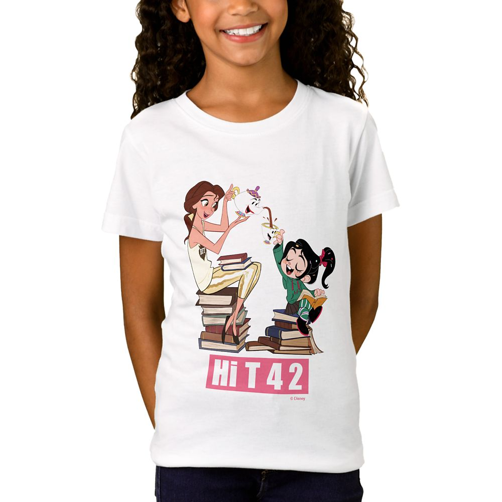Ralph Breaks the Internet ''Hi T 4 2'' T-Shirt for Girls  Customizable Official shopDisney