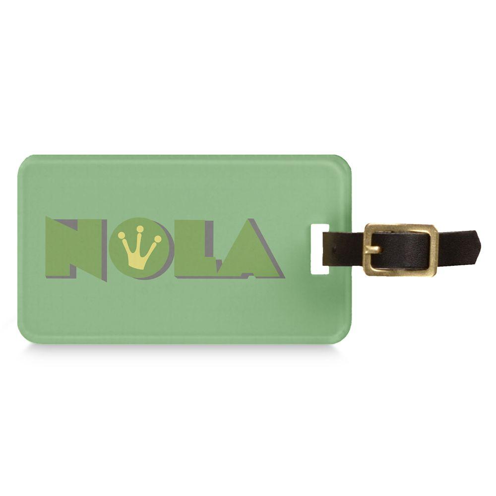 Tiana NOLA Luggage Tag  Customizable Official shopDisney