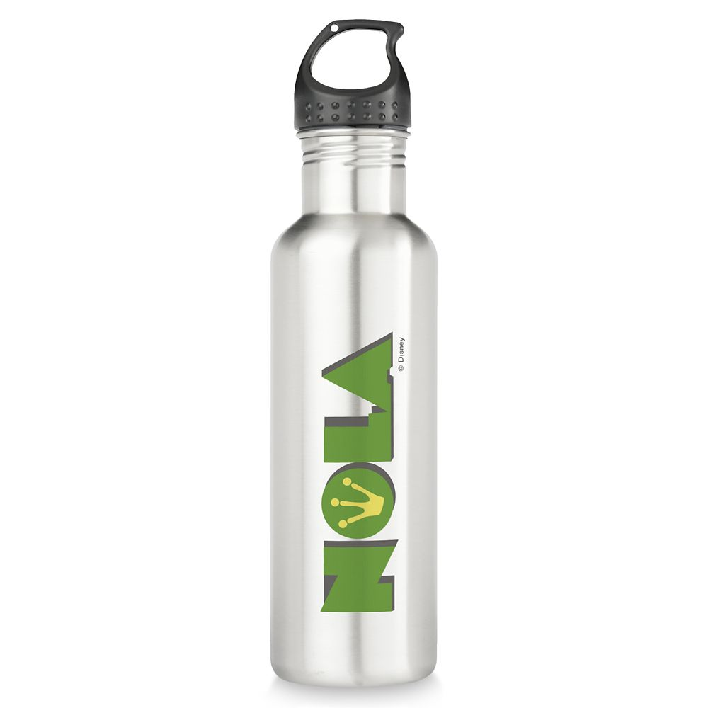 Tiana ''NOLA'' Stainless Steel Water Bottle – Customizable