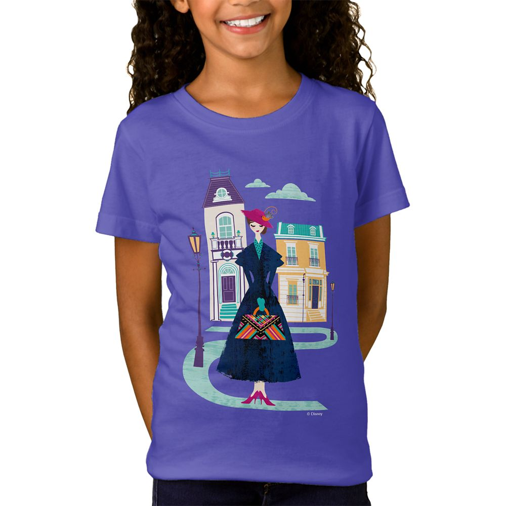 Mary Poppins Returns T-Shirt for Girls – Customizable
