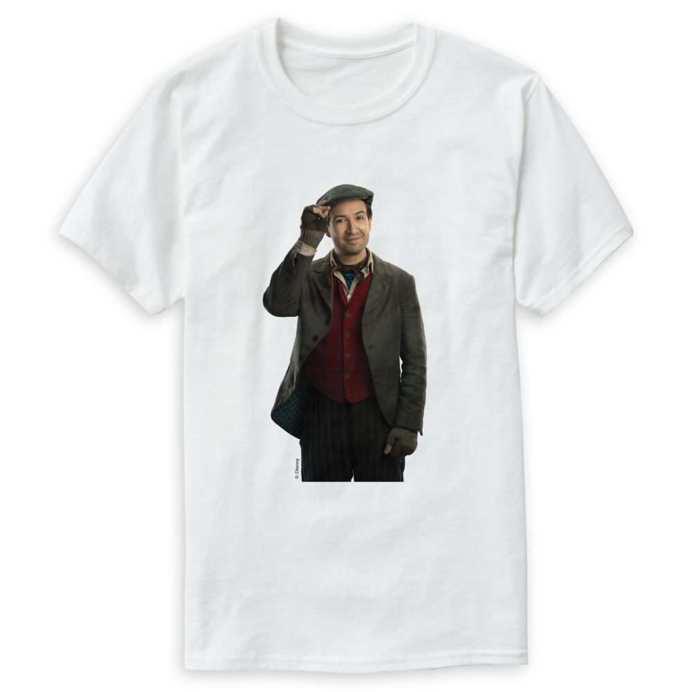 Jack the Lamplighter T-Shirt for Men  Mary Poppins Returns  Customizable Official shopDisney