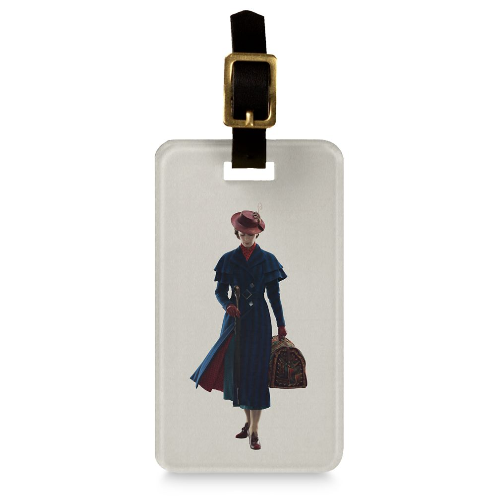 Mary Poppins Luggage Tag  Mary Poppins Returns  Customizable Official shopDisney