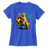 Marvel's Captain Marvel Goose on Helmet ''Fly High'' T-Shirt for Women – Customizable