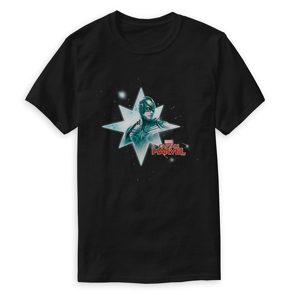 Marvel's Captain Marvel Mar-Vell Hala Star Graphic T-Shirt for Men – Customizable