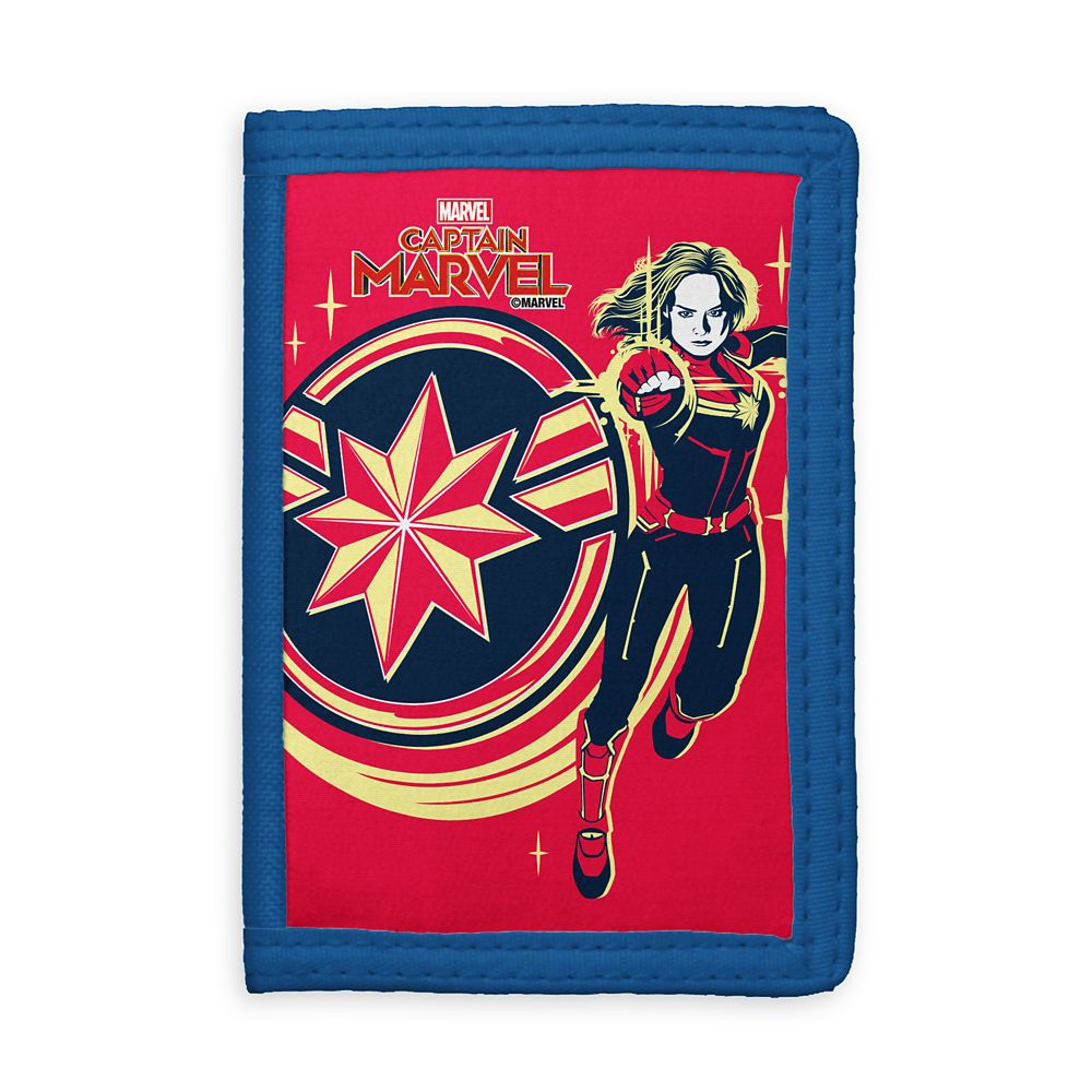 Marvel's Captain Marvel Photon Fists Trifold Wallet – Customizable