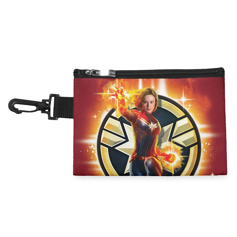 Marvel's Captain Marvel Glowing Photon Energy Accessory Bag  Customizable Official shopDisney