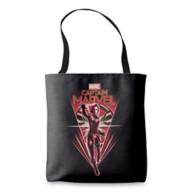 Marvel's Captain Marvel Shining Captain Marvel Badge Tote Bag – Customizable