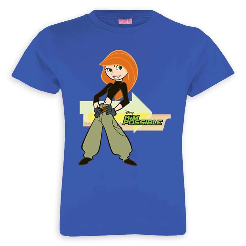 Kim Possible ''Everything's Possible'' T-Shirt for Girls – Customized
