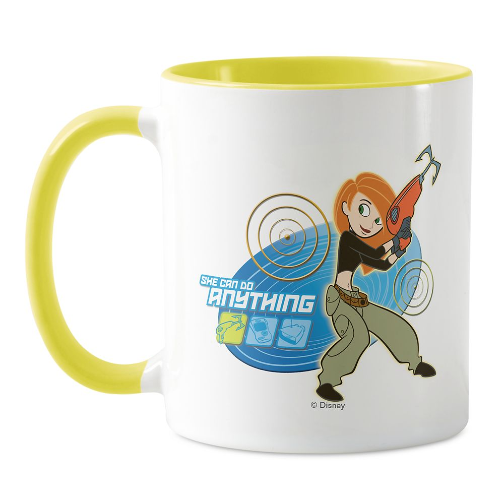 Kim Possible ''She Can Do Anything'' Mug – Customized