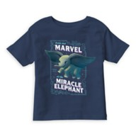 Dumbo ''Come and Marvel at the Miracle Elephant'' Circus Art T-Shirt for Boys – Live Action Film – Customized
