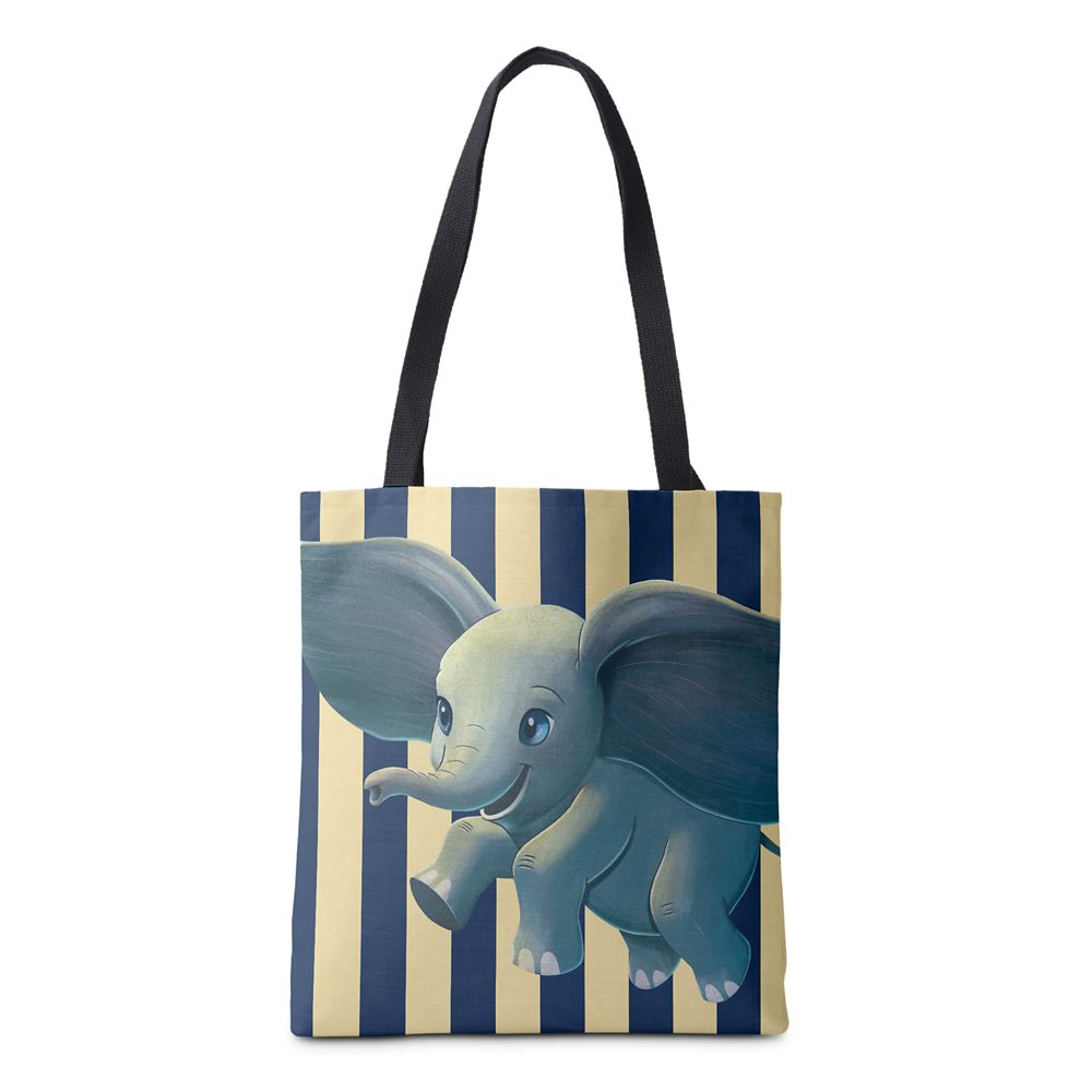 Dumbo: Flying Dumbo Painted Art Tote Bag – Live Action Film – Customized
