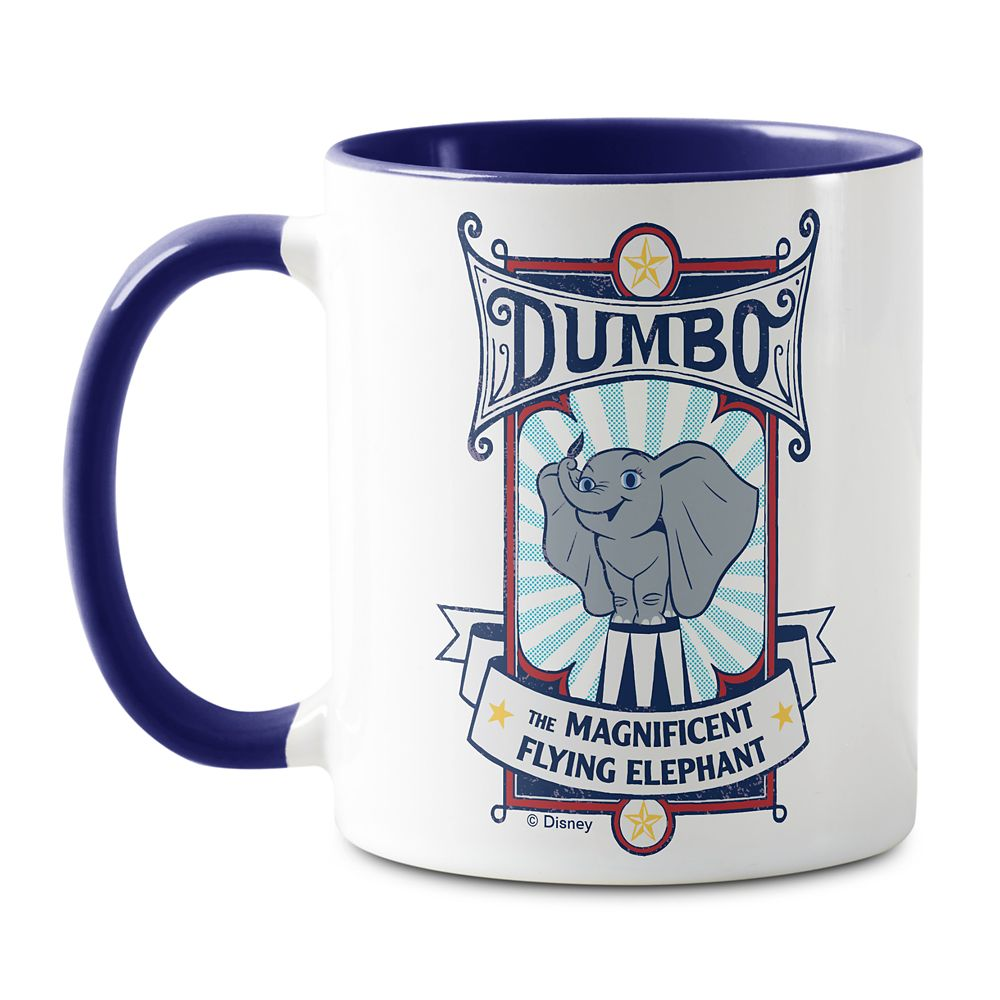 Dumbo ''The Magnificent Flying Elephant'' Circus Art Mug – Live Action Film – Customized