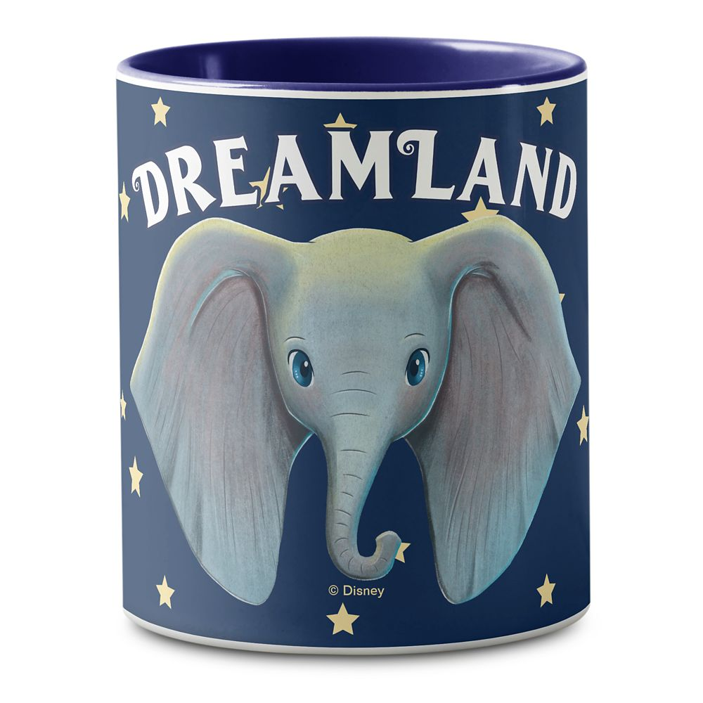 Dumbo: Cute Large Ears Painted Art Mug – Live Action Film – Customized