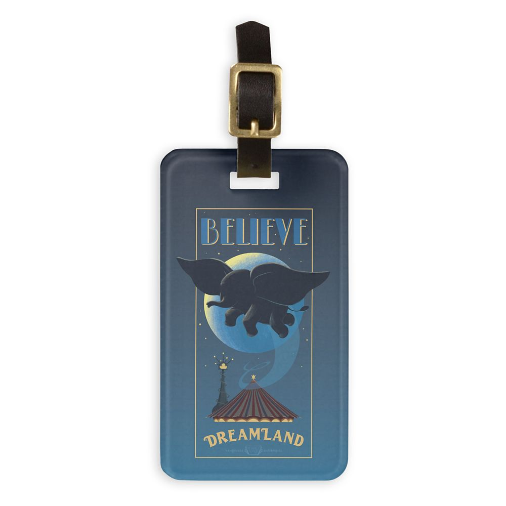 Dumbo: Dreamland ''Believe'' Attraction Art Bag Tag – Live Action Film – Customized