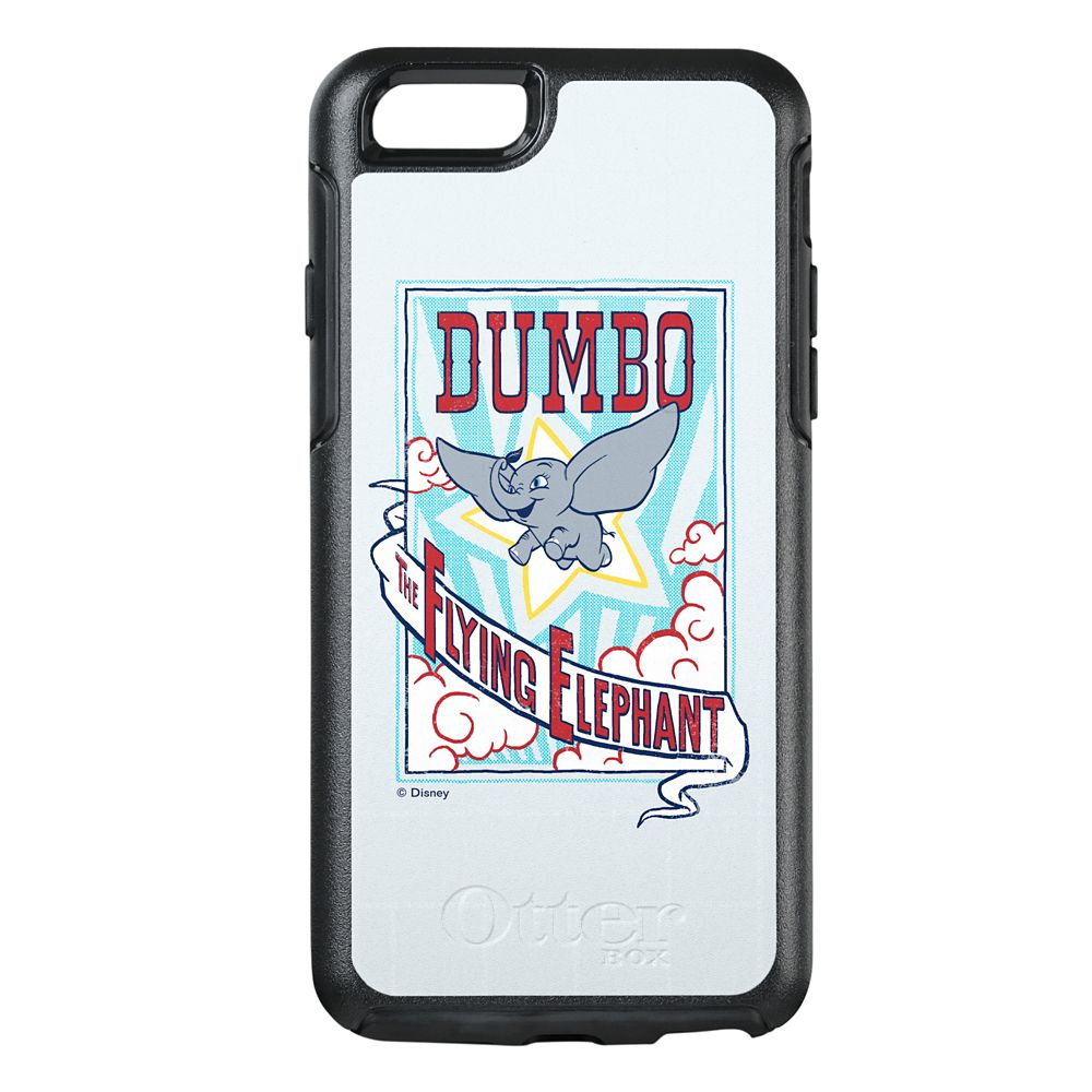 Dumbo ''The Flying Elephant'' Circus Art OtterBox iPhone 8/7 Case – Live Action Film – Customized
